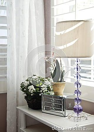 Free Stylish Bedroom Interior Decoration Royalty Free Stock Photo - 4023485