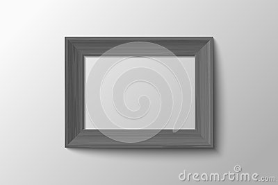 Stylish black and white frame