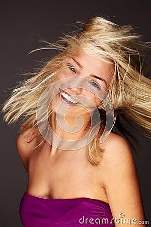 Stylish Blond Beauty