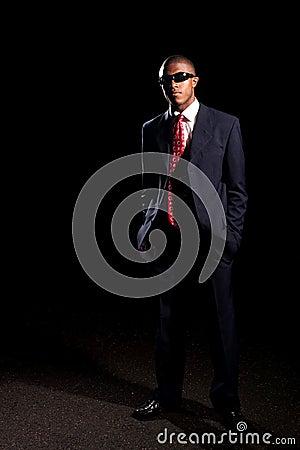 Stylish Business Man Wearing Shades