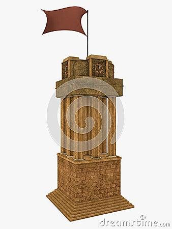 Stylish Clock Tower