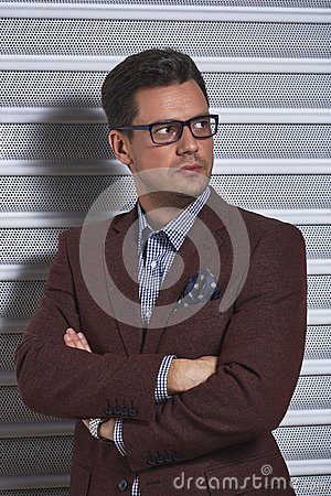 Free Stylish Confident Man Stock Images - 51294064
