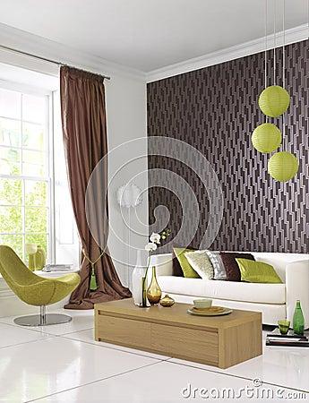 Stylish contemporary room
