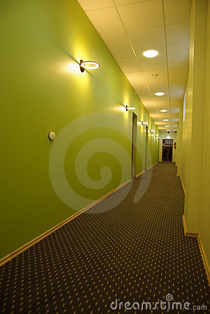 Stylish corridor
