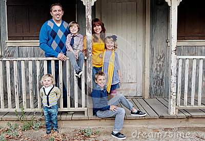 Stylish Family Portrait