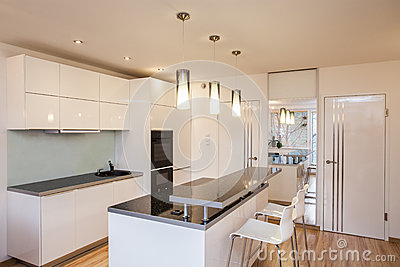 Stylish flat - Kitchen interior