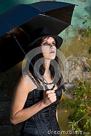 Stylish Goth Girl