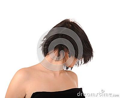 Stylish hairdress