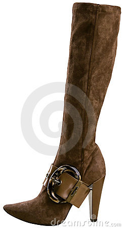 Free Stylish High Heel Fashion Boot Royalty Free Stock Photo - 6932775