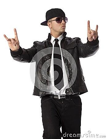 Stylish Hip Hop Man