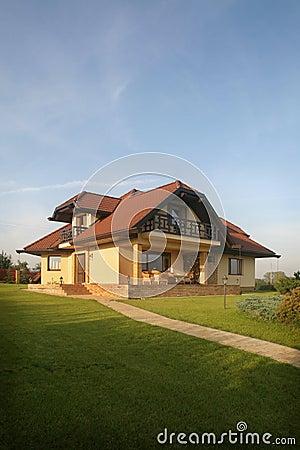 Stylish House on a Hill