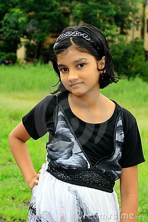 Stylish Indian girl