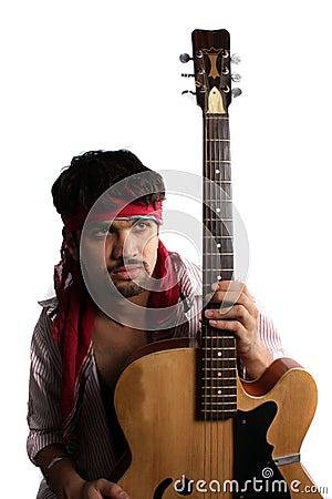 Stylish Indian Guitarist