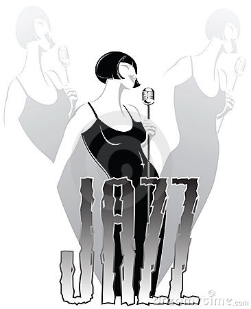 Stylish jazz singer