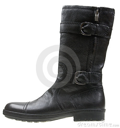 Free Stylish Male High Heel Fashion Boot Stock Image - 8265951