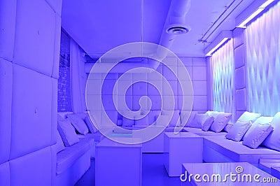 Stylish modern lounge