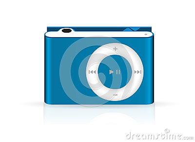 Stylish and modern mp3 player