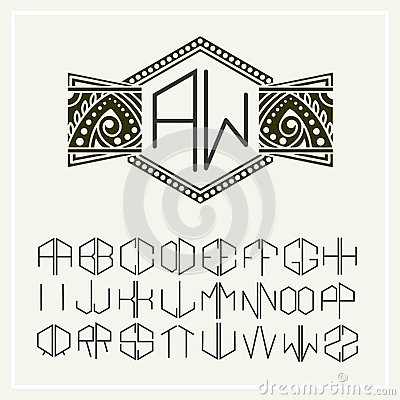 set 2 template letters to create monogram stock photos images pictures 50 images