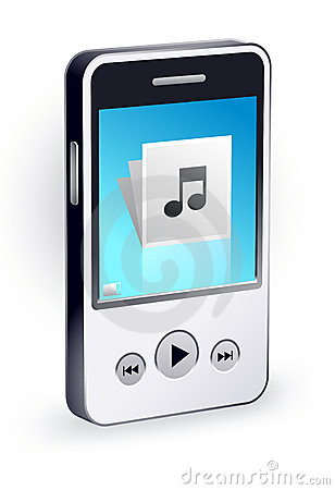 Stylish mp3 player
