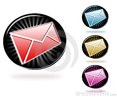 Stylish newsletter icons
