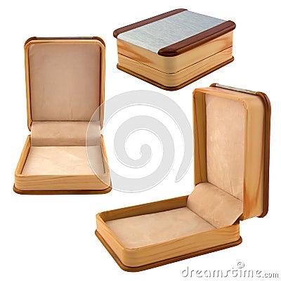 Stylish open small box