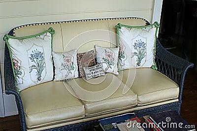 Stylish Patio Furnishing With Cushions