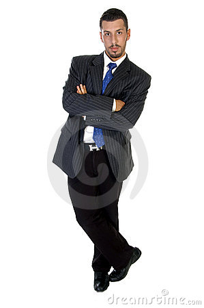 Free Stylish Pose Of Successful Businessperson Stock Images - 6485794