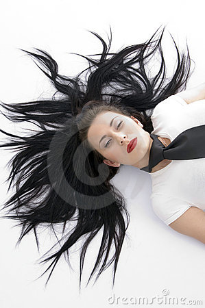 Free Stylish Pose Of Young Model Royalty Free Stock Photography - 7155977