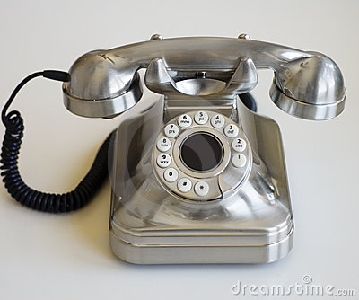 Stylish Retro Phone