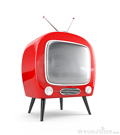 Stylish retro TV