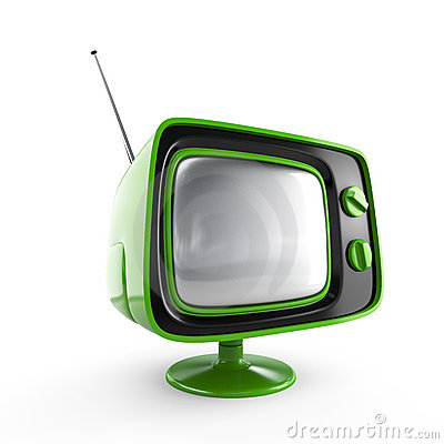 Free Stylish Retro TV Stock Photography - 4082322