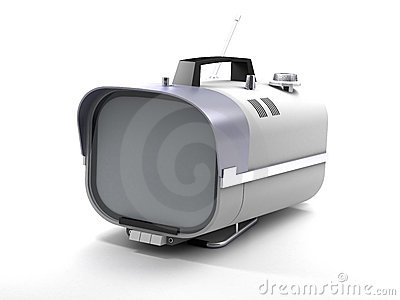 Stylish retro TV sixties