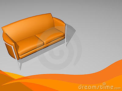 Stylish sofa furniture - take time and chill out