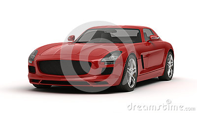 Stylish sports car