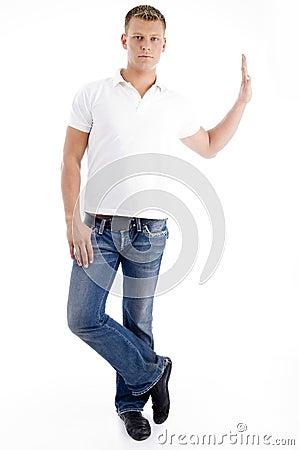 Free Stylish Standing Pose Of Man Stock Photo - 7361880