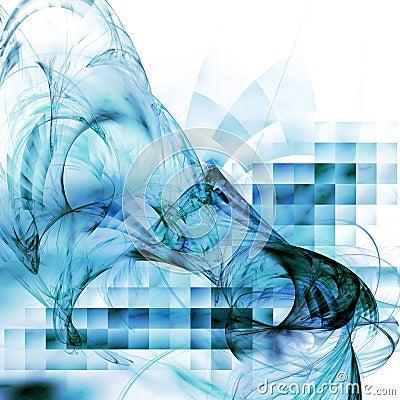 Free Stylish Techno Background Royalty Free Stock Images - 6736979