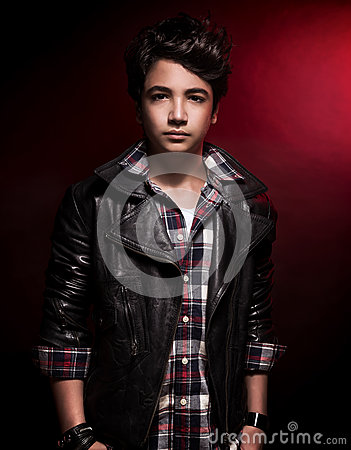 Stylish Teen Boy Stock Photo - Image: 54999522