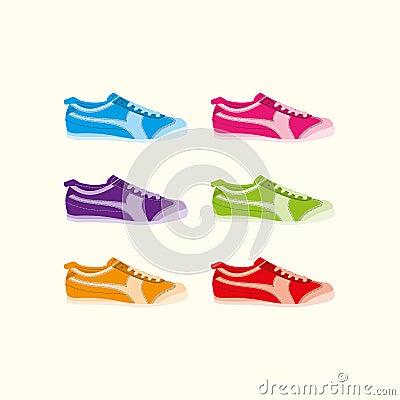 Stylish trainers