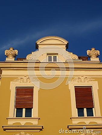 Stylish windows in Belgrade