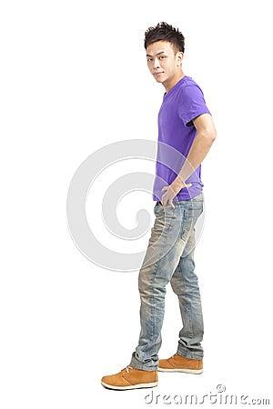 Stylish young asian man