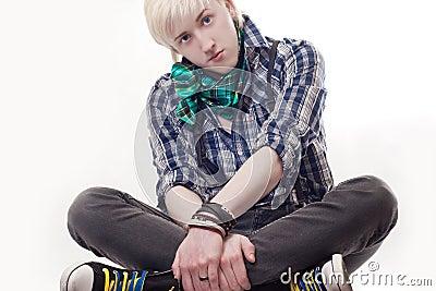 Stylish young guy