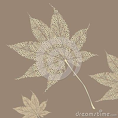 Stylization, maple sheet A