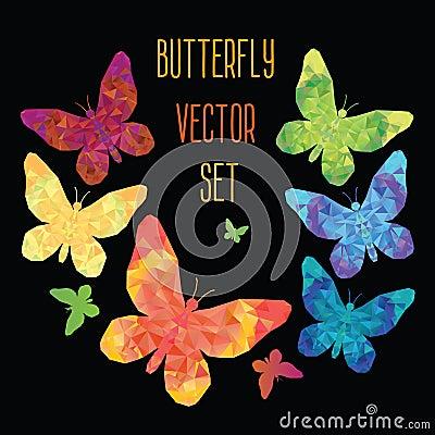 Free Stylized Butterfly Stock Image - 51223621