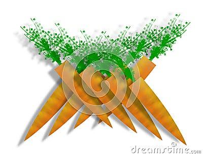 Stylized Carrots
