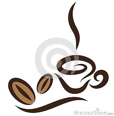 Stylized Coffeecup