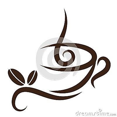 Free Stylized Coffeecup Stock Images - 12749384