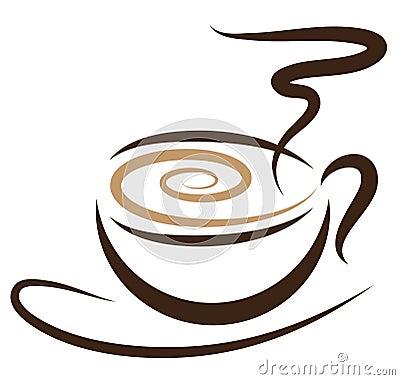 Free Stylized Coffeecup Stock Photos - 12749403