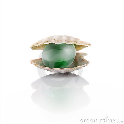 Free Stylized Green Pearl Stock Photo - 7915620