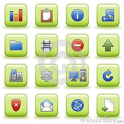Free Stylized Icons Set 02 Stock Photos - 11431303