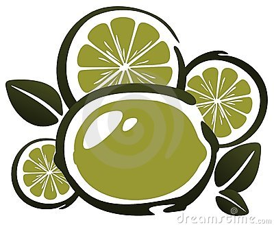 Stylized lime